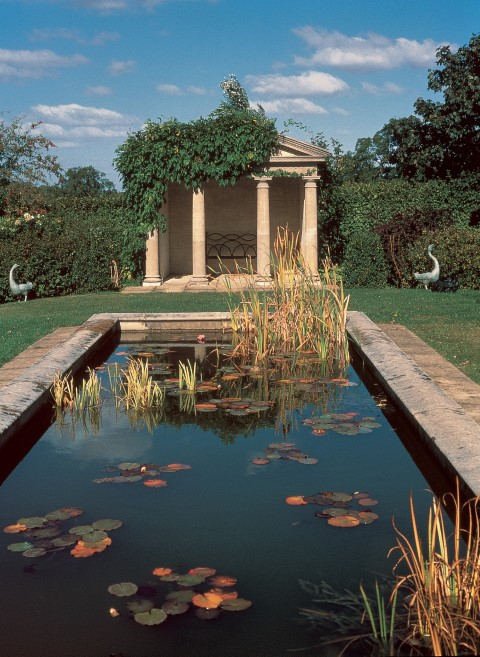 A folly can provide a focal point in a private garden or a wedding venue at a hotel