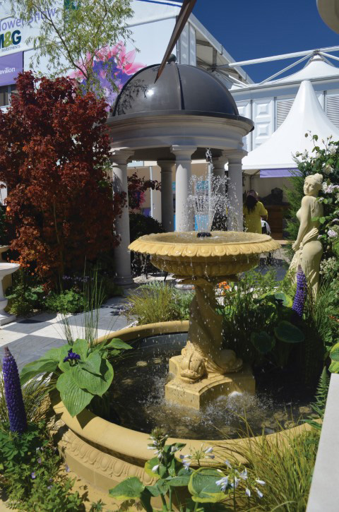 Fountains and water features are a speciality for Folly Expert